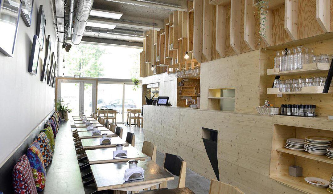Kiosko, Café, restaurant
