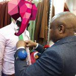 Sapeur et Sapologie : Évariste et Le Bachelor à la boutique Sape & Co à Paris