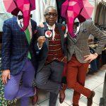 Sapeur et Sapologie : Évariste, Le Bachelor et Eudes à la boutique Sape & Co à Paris