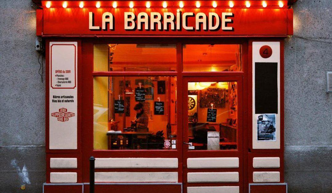 La Barricade, Bar