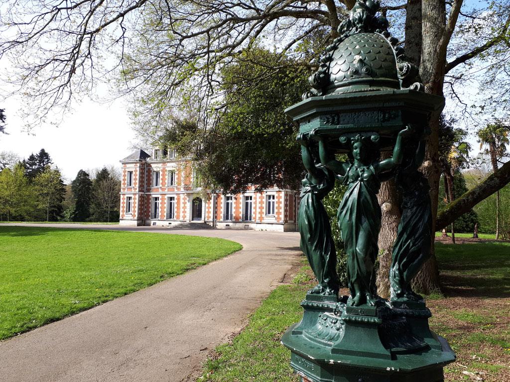 Parc de la Gaudinière à Nantes