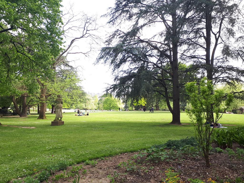 Parc de Procé à Nantes
