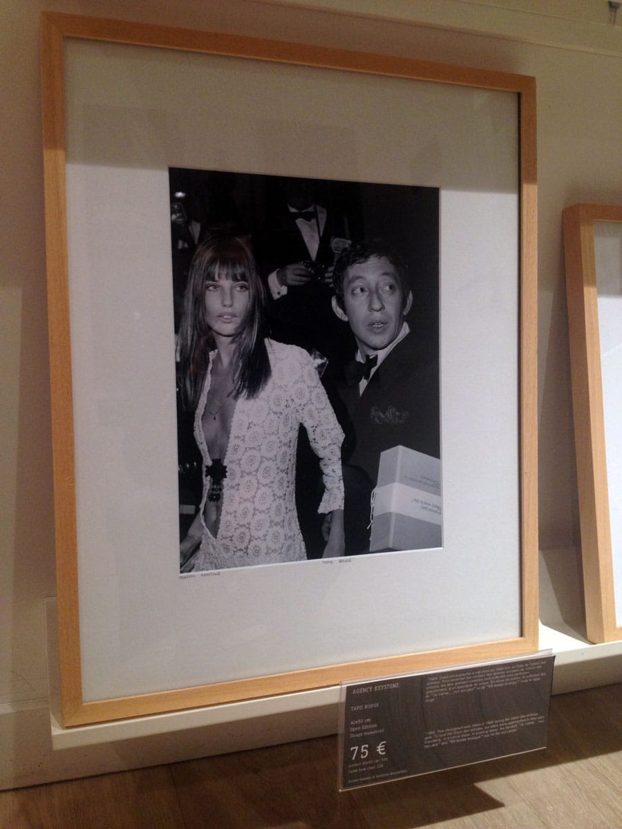 Portrait Serge Gainsbourg & Jane Birkin, 1969 - YellowKorner