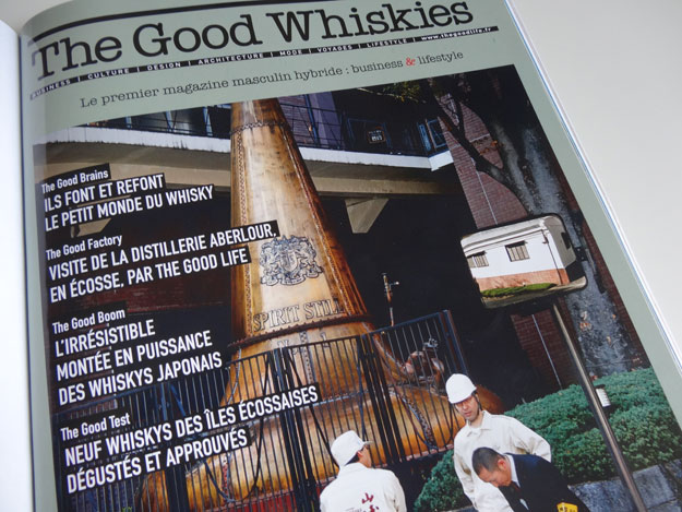 Magazine The Good Life, articles sur le whisky