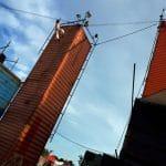 Danse verticale à Transfert, site des anciens abattoirs de Rezé