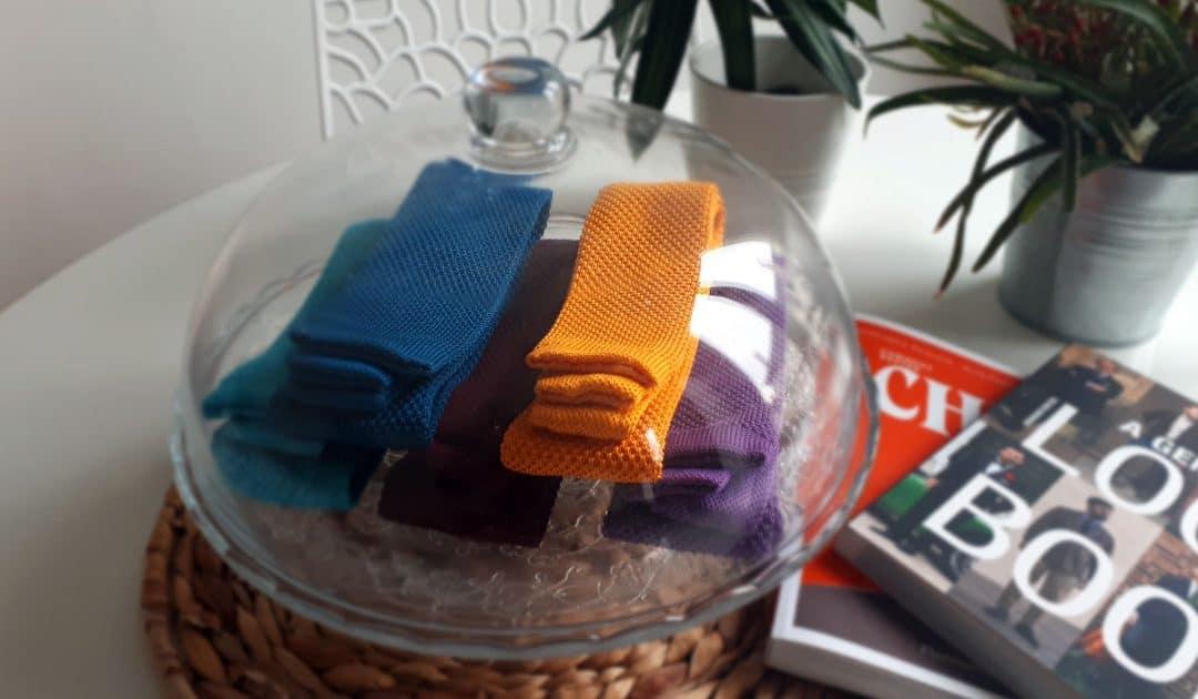 La cravate tricot