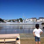 Vue sur Le Maillé-Brézé depuis l'Île de Nantes