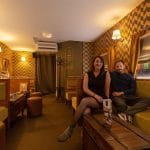 Martin et Gaëlle-Anne, propriétaires du 19:33, Bar à cocktails à Nantes